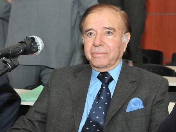 Carlos Menem fue condenado por contrabando de armas