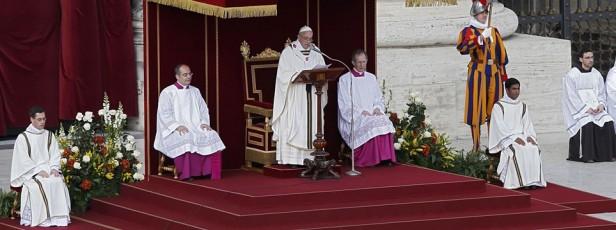 Comenzó el pontificado de Francisco