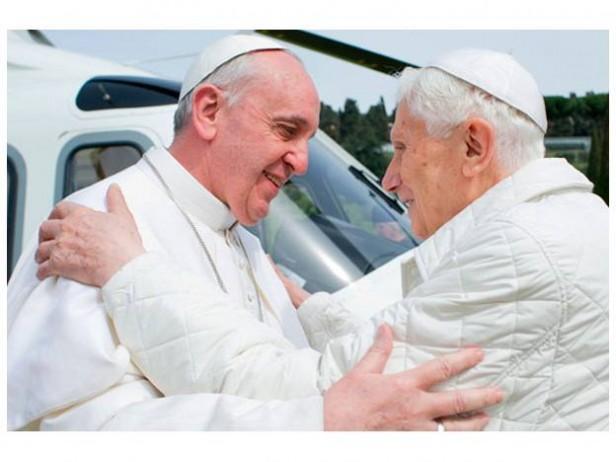 Francisco y Benedicto XVI, en un encuentro histórico para la Iglesia