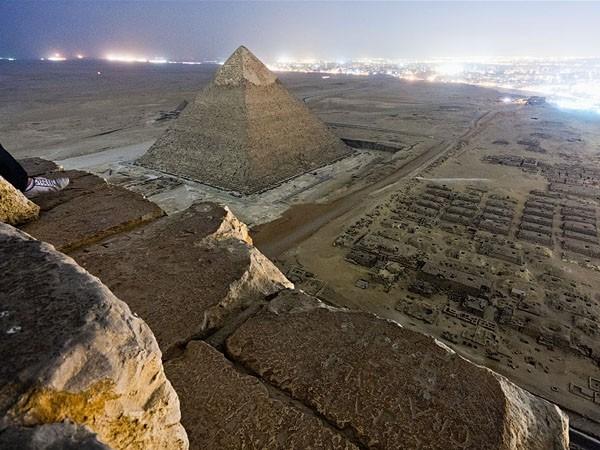 Las fotos prohibidas de las pirámides de Egipto