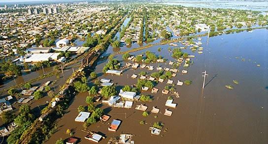 Santa Fe recuerda la peor inundación de toda su historia