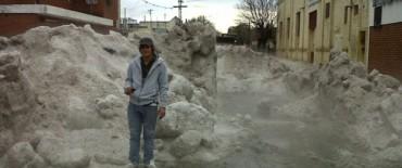 Se normaliza la situación en Alta Gracia luego de la fenomenal pedrea