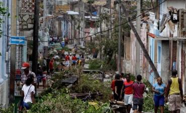 En Cuba siguen sin luz ni agua tras el huracán