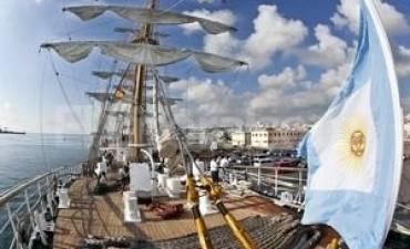 La Fragata Libertad emprenderá su regreso a la Argentina el próximo miércoles