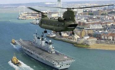Denuncian que Gran Bretaña lanzará misiles en Malvinas
