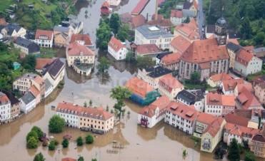 Europa está bajo el agua