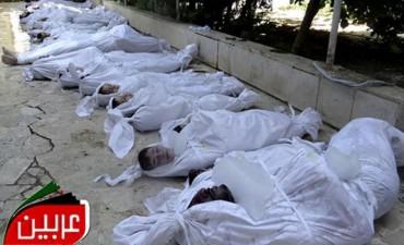 Activistas denunciaron 1.300 muertos en un ataque del régimen sirio con armas químicas
