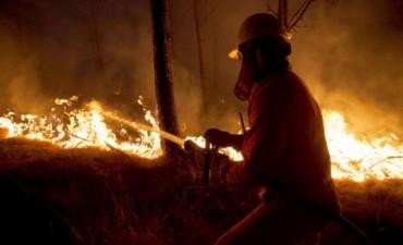 Es dramática la situación en Córdoba por los incendios y la temperatura máxima llegará a 35°