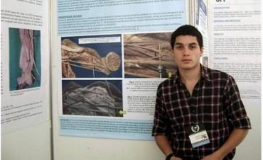 Un joven de Gualeguaychú realizó un hallazgo científico
